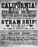 California Gold Rush poster